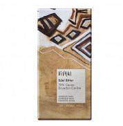 Шоколад черный Эквадор 70% какао Vivani 100 г
