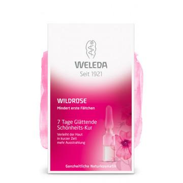 Разглаживающий концентрат для лица с маслом розы Weleda 7 капсул по 0,8 мл