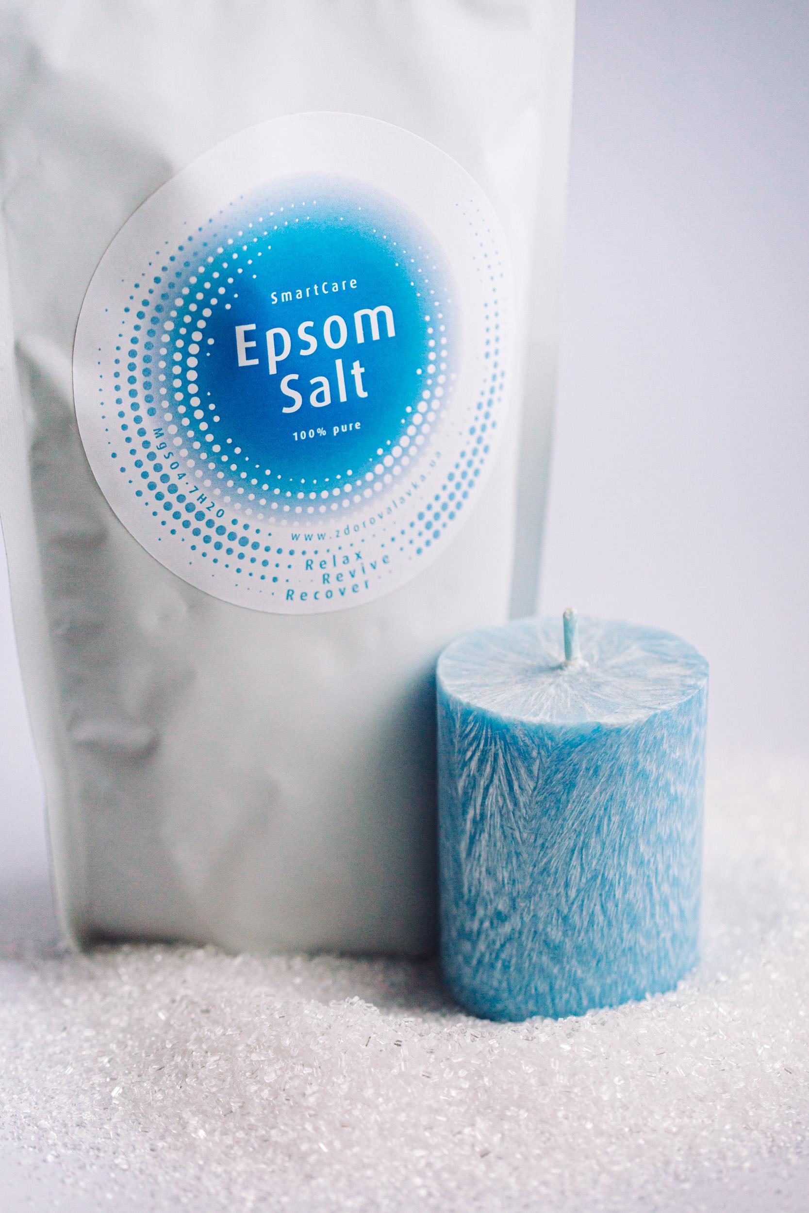 Английская магниевая соль для ванн Эпсома, Smart Care