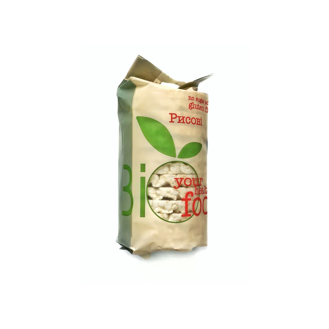 Хлебцы рисовые безглютеновые Bifood 100 г