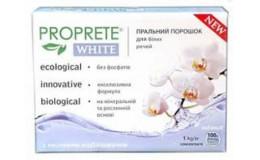 Порошок стиральный для белых вещей Proprete