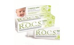 Зубная паста Baby для самых маленьких Ромашка Rocs 45 г
