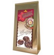 Песочное печенье Шоколад в шоколадной глазури Стевиясан 130 г