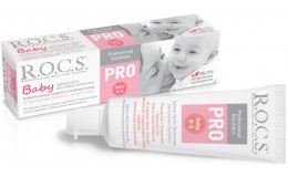 Зубная паста PRO Baby для самых маленьких Rocs 45 г