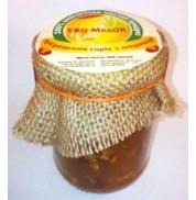 Мед с грецким орехом, Эко-медок (350г)