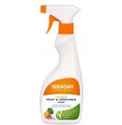 Средство для мытья фруктов и овощей Sodasan 500 мл