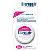 Зубная лента-флосс с гидроксиапатитом Biorepair 50 м