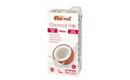 Молоко кокосовое без сахара  EcoMil 1 л