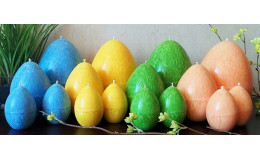 Свеча пальмовая Пасхальное яйцо Plamis