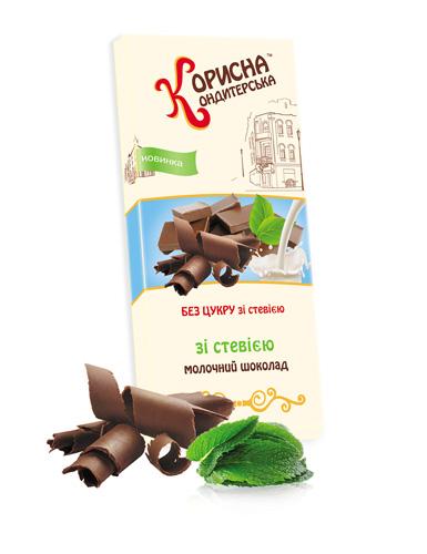 Шоколад молочный Стевиясан 100 г