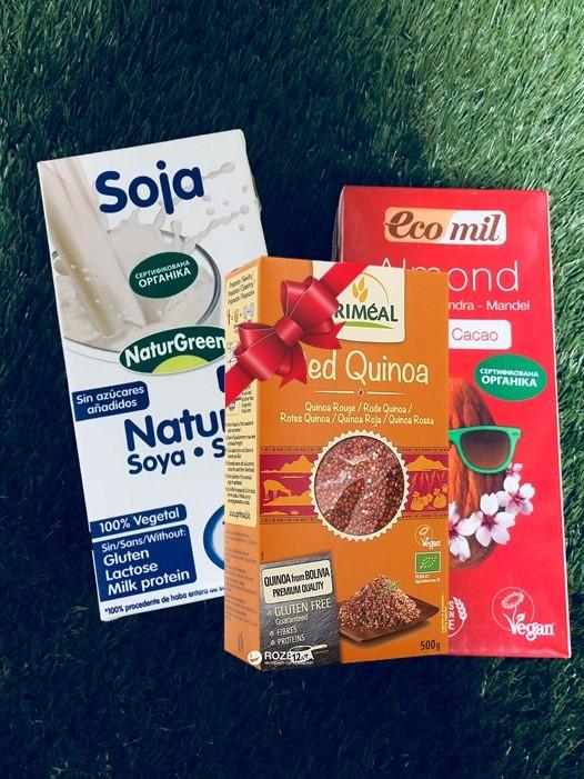 Покупайте растительное молоко и получите подарок!